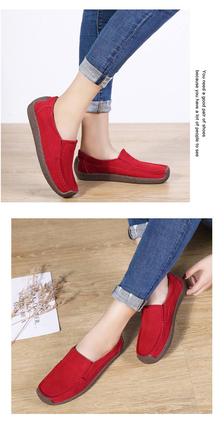 new style casual flat loafers