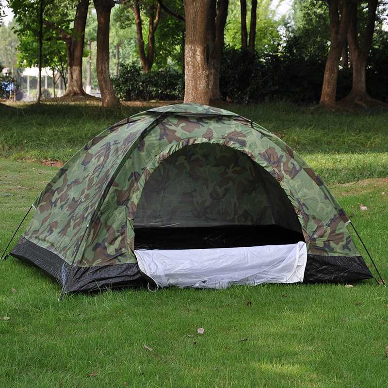 Double Camouflage Tent, 2 people leisure tent, outdoor camping tent, camping tent 17