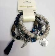 Beads bracelet set