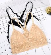Sexy lace pattern bra