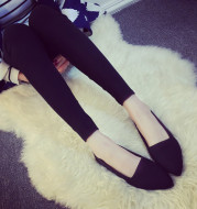 Single layer shoes for women