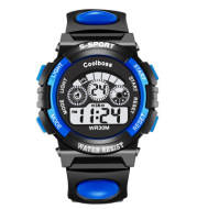 Direct manufacturers coolboss cool BOSSE children watch multifunctional light waterproof student electronic watch