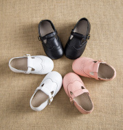The spring and autumn of 2020 children 1-3-6 years old baby princess shoes leather shoes all-match Doug girls shoes shoes.