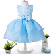 European and American children's wear full moon princess dress dress, 0-2 year old baby dress on behalf of a generation