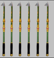 Wholesale manufacturers of glass steel pole rod fishing rod fishing rod shot super hard fishing rod fishing rod wholesale market