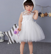 2020 summer baby full moon dress, baby dress skirt, princess skirt, white and fluffy dress skirt