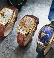 Sewor men's watch the men's casual men's watches mechanical automaton hollow Tourbillon mechanical watch