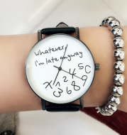 Colorful Band Personalized Lovers Watches