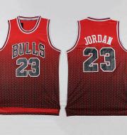 The spot wholesale trade BULLS 23 new Bulls basketball clothing embroidery basketball jersey fabric drift