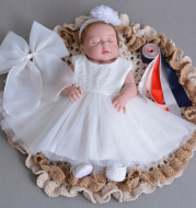 2021 summer baby style, light dress dress, Princess gauze dress, full moon baby skirt dress