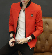 2020 new autumn jacket men Korean fashion leisure men's baseball uniform solid collar youth fashion clothes