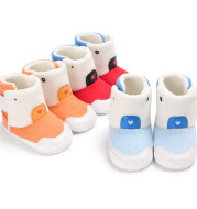 Sea Yue Shen winter men and women aged 0-1 baby thick warm boots Color Baby Toddler shoes a generation