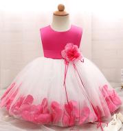 Girl dress, baby princess dress dress, petal full moon baby skirt