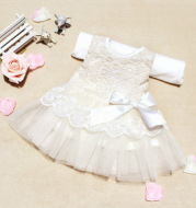 In the summer of 2021 foreign children s Korean infant girls dress on behalf of a bow