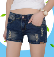 Factory direct sales 2016 Summer Edition Korean women's jeans shorts, female stretch pants, big pants, women's jeans shorts
