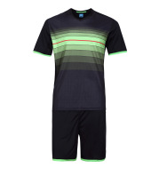 2016 genuine football suit set for men's short sleeved team competition