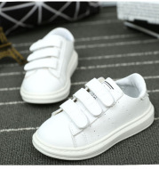 2020 spring summer children shoes, students shoes and white shoes casual shoes slip baby shoes leather