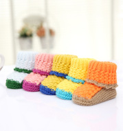 Knitting baby, baby walker, men and women, handmade shoes, shoes, children's shoes wholesale