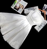 Lace Off Shoulder Wedding Dress
