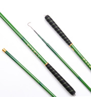 Wholesale manufacturers Qingchuan high carbon carbon rod carp stream, a super light super hard fishing rod fishing special offer