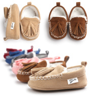 Winter Beanie Baby Shoes Shoes 6 Baby Toddler shoes shoes soft bottom slip shoes shoes 0171