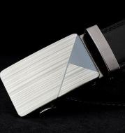 Men's belt laser automatic buckle trend fashion hundred matching youth belt