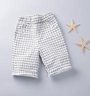 Kids Summer Plaid Cotton Boy Shorts 1-2-3-4-5-6 Years Old