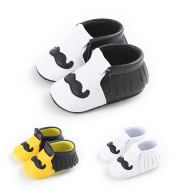 Baby shoes, baby shoes, soft bottom shoes, big mustache, toddler shoes