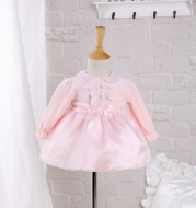 Baby collar, baby year old princess skirt, spring and autumn baby, hundred day dress, full moon dress, full Moon Princess Dress