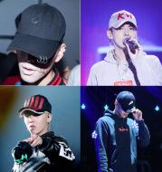 Men's Hoop Cap Korean Pin Hat Lady Street Dance Spring Summer Sun Hip Hop Baseball Cap