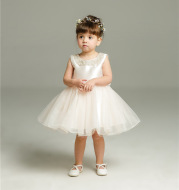 Maggie's new born baby, baby, baby, one year old, 100 days wedding dress, princess, fluffy dress