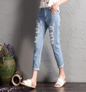 Tight waist jeans
