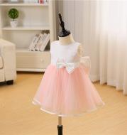 Korean pink baby, baby, one year old, 100 day full moon wine, wedding dress, princess, fluffy dress