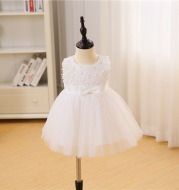 Maggie 2020 female baby baby banquet wedding dress skirt girls Flower Girl Tutu Princess Dress