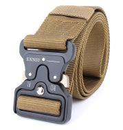 ENNIU tactical belt, men's army fans tactical belt, multi function nylon outdoor training belt can be customized logo