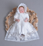 Cross border for fast selling baby princess dress, baby wash gown, lace dress, three sets of full moon skirt