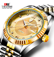 The explosion of TEVISE Teweisi Mens watch new waterproof fashion mens watch automatic mechanical watches
