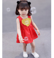 2020 new summer children 0-1-2-3 years old female baby girl baby princess dress dress summer dress