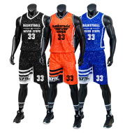 Lei Yi new children's basketball suit, wholesale ball wear, custom basketball clothing, men's training clothes, a generation
