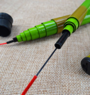 Hard glass steel rod factory direct wholesale fishing tackle fishing tackle stream pole fishing rod 37 for beginners