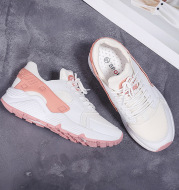 Autumn flat bottomed sports shoes, female Korean students, tennis shoes, women's running shoes, 2021 women's shoes