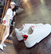 In the autumn of 2021 new all-match thick white shoe lace female casual shoes sneakers shoes 715