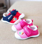 2020 New Baby Toddler shoes soft soled shoes shoes Baotou baby autumn slip function of single 0-2 years old children