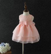 Baby full moon baby dress, baby dress, one year old princess dress, girl dress skirt in 2021 spring and summer
