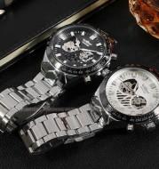 Factory direct selling T-WINNER Winner men and women neutral watch, automatic mechanical watch, steel belt neutral table