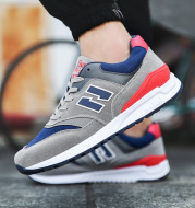 In the autumn of 2020 men's sports shoesMens' Korean all-match running shoes Agam surface