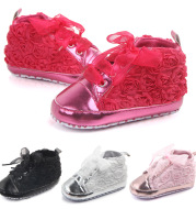 Super explosion models wholesale spring new MIYUEBB baby shoes plain rose toddler shoes 0262