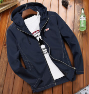 Jacket autumn 2020 new Korean version of the casual autumn trend trend handsome youth jacket spring and autumn clothes men's clothing