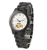 Wholesale new men and women ultra-thin mechanical wood watches