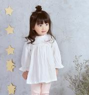IDEA2021 spring new Korean children girls dress color infant baby princess skirt 8895